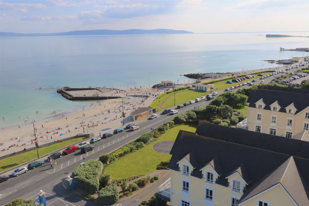 Galway Bay and Salthill area, Ireland